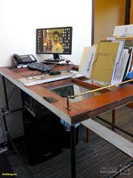 pipe computer desk inspirational 37 diy standing desks built with pipe and kee klamp simplified