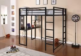 Loft Bed Bedroom Dhp Furniture Abode Full Size Loft Bed