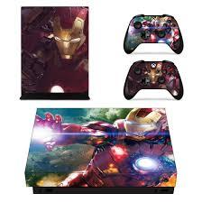 Xbox one xbox one themes. Tony Stark Damaged Iron Man Mark Armor Red Xbox One X Skin Saiyan Stuff