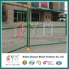 temporary fence portable dog fence pvc decorative garden fence
