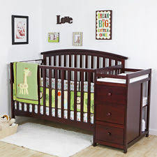 cherry 5 in 1 side convertible crib changer nursery furniture baby toddler bed baby nursery furniture relax emma