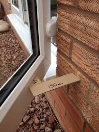 outside patio door. If In Doubt, We Suggest Making A Cardboard Angle Guide Such As This To Check Your Door Alignment \u0026 Decide On The Best Of Doorstop Install. Outside Patio