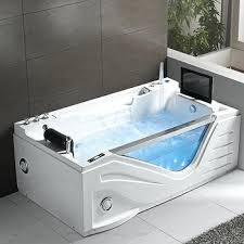 bathtub with tv luxury jet whirlpool hotel bathtub with