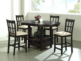 high kitchen table sets wonderful tall round kitchen table and chairs counter height sets bar high