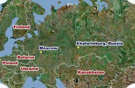 Afbeeldingsresultaat voor yekaterinburg map moscow