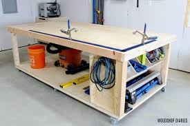 how to build a diy mobile workbench 3