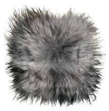 black fur seat covers sheepskin seat cover silver