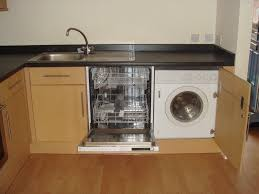 How To Install Dishwasher That Is Few Cabinets Away From Kitchen Connecting A Washing Machine To A Kitchen Sink