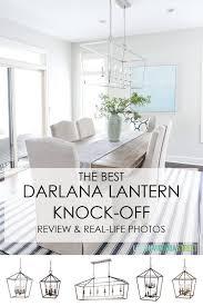 best knock off darlana pendant lights