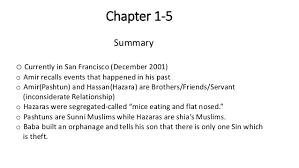 The kite runner detailed summary