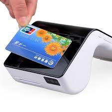 Card Scanner Portable Android Nfc Card Reader Emv Payment Pos Terminal With