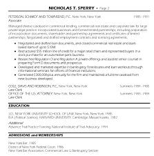 senior counsel resume senior attorney resume