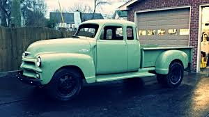 1954 Chevy 7 Window, Extended Cab, Stepside Dually, 1 Of A Kind ...