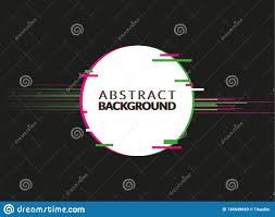 Brochure Graphic Design Background Distorted Glitch Style Modern Background For Graphic Design
