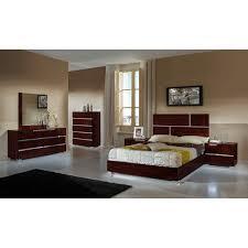 Lacquer Bedroom Furniture Vig Furniture Vgacpicasso Set Modrest Picasso Bedroom Set