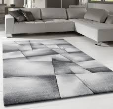 details about grey geometric rug small extra large pattern new carpet dining room lounge mats
