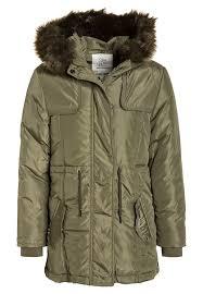 jacket teen girl winter coat kaki