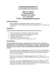 Office Position Resume Resume For Office Job Yuriewalter Me