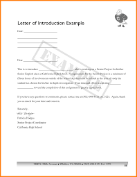 7 Letter Of Introduction Example For Job Introduction Letter