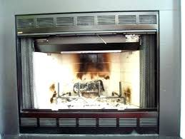 gas fireplace glass doors open or closed gas fireplace glass doors open or closed living room fireplace glass doors