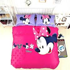 queen size minnie mouse bedding sets mickey and comforter set mouse bed set full amazing cute