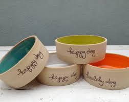 Dog Bowl, Personalized Dog Bowl, Ceramic Dog Bowl, Custom Dog Bowl, Pet