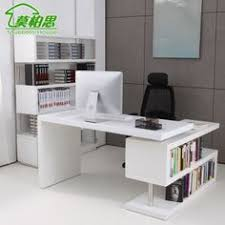incredible modern office table product catalog china. Mo Bosi White Paint Corner Computer Desk With Bookcase Rotatable Shipping(China ( Incredible Modern Office Table Product Catalog China A