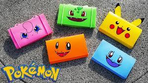 Decorate Pencil Case Diy Easy Pokemon Pencil Box Back To School Tutorial