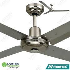 ceiling fan no blades. 304 stainless steel martec trisera 3 or 4 1200mm 48\ ceiling fan no blades