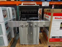 Delighful Kitchenaid 5 Burner Gas Grill Bbq Costco And Design