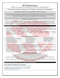 Ideas Of Resume Cv Cover Letter Sap Fico Consultant On Techno