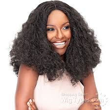 Janet Collection Wig Color Chart Janet Collection Natural Me Synthetic Hair Lace Wig Jenna