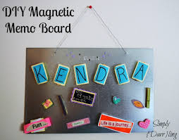 How To Make A Magnetic Memo Board Easy Magnetic Memo Board Simply Darrling 8