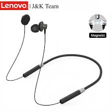 Original <b>Lenovo</b> Wireless Headsets <b>HE05</b> Sport <b>Earphone</b> Magnetic ...