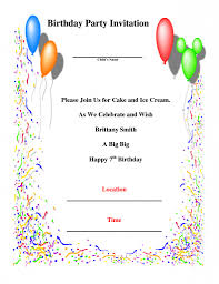 barney party invitation template how to invite birthday party invitation email image collections