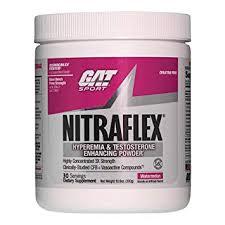 gat clinically tested nitraflex testosterone enhancing pre workout watermelon 300 gram