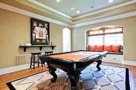 pool table rugs billiard best rug size