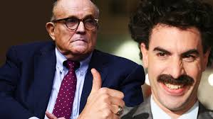 Look at her social media. How Rudy Giuliani Got Caught Red Handed With Borat S Daughter