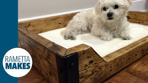 Diy Dog Bed How To Build A Custom Dog Bed Diy Youtube