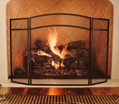 oversized fireplace screens