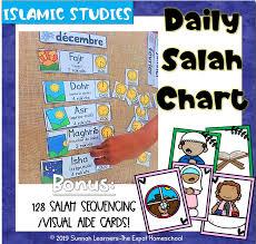 Salah Chart Daily Salah Islamic Prayer Chart And Sequencing Cards