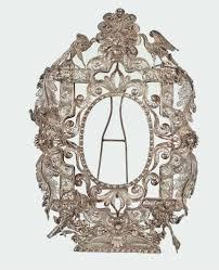 a silver filigree frame venice 18th century