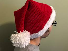 Crochet Santa Hat Pattern Cool Design Ideas