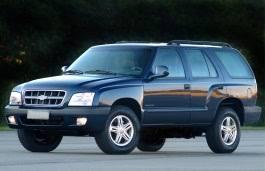 Chevrolet Blazer 2001 Wheel Tire Sizes Pcd Offset And