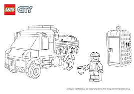 Lego City Coloring Pages Police Gallery Free Books 20791483