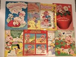 image is loading lot of 8 vine strawberry shortcake coloring books