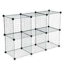 wire grid shelving metal storage cubes stacking cubes wire cube connectors grid wire modular shelving metal