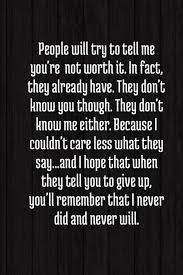 Quotes About Giving Up