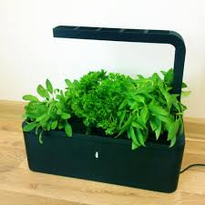 Indoor Kitchen Garden Click And Grow Low Maintenance Indoor Vegetable And Herb Garden
