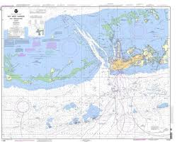 Noaa Nautical Chart 11441 Key West Harbor And Approaches